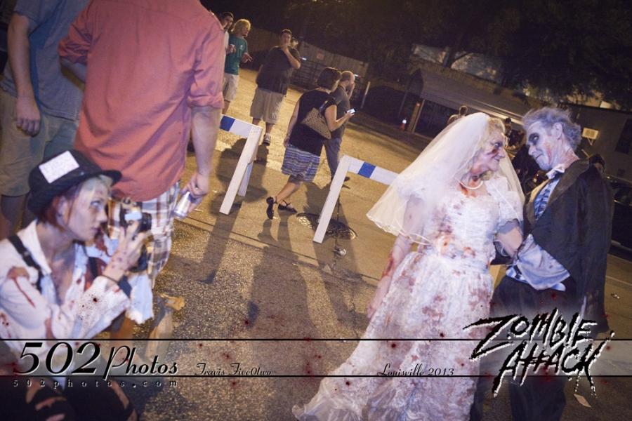 Zombie Wedding Photographer
